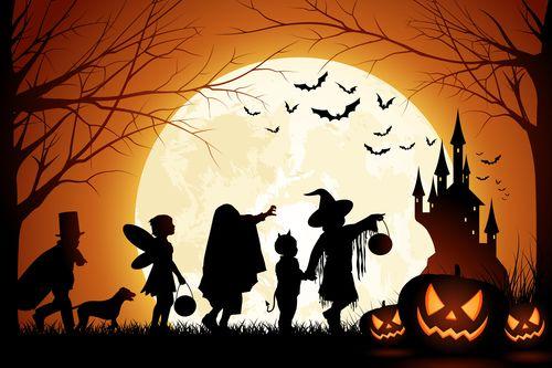 Хэллоуин. Свой или чужой?