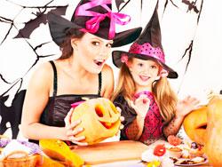 Подготовка к празднику Хэллоуин