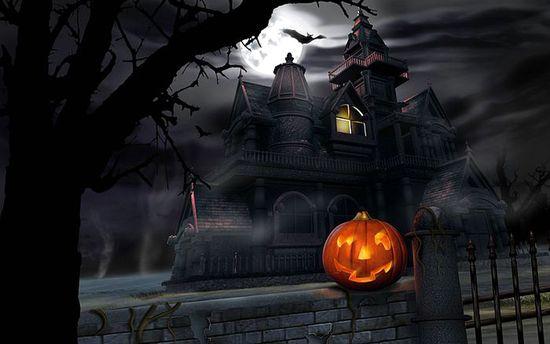 Сказочный замок, в котором 31 октября отмечают Хеллоуин